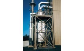 Wet electrostatic precipitator from Bionomic Industries Inc.