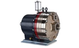Sealless, positive-displacement pump from Wanner Engineering.
