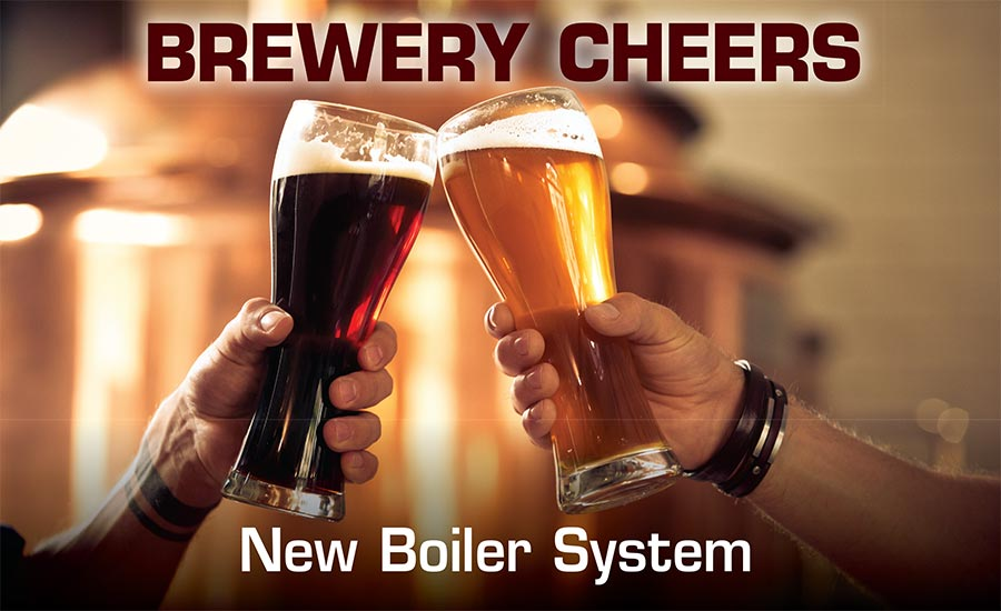 Brewery boiler system