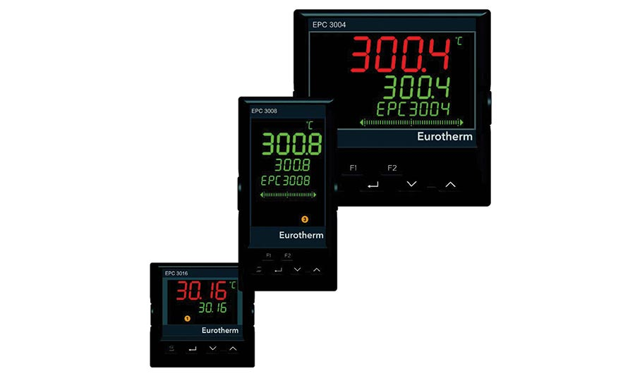 Process and temperature controllers from Eurotherm.