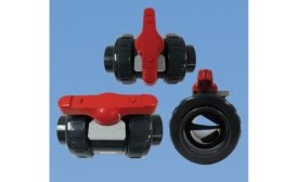 Flow control ball valve from Asahi/America Inc.