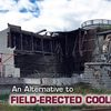 field-erected cooling tower
