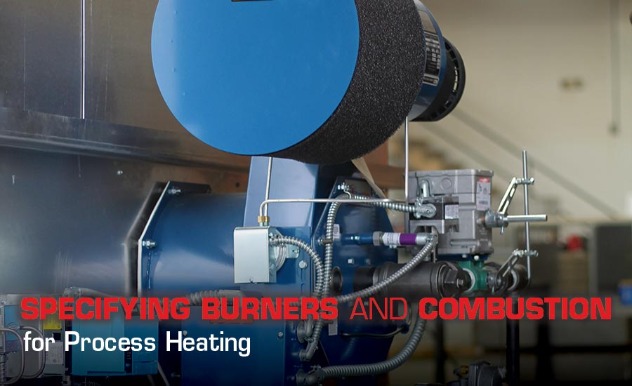 process heating burner