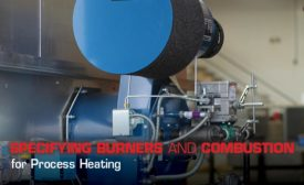 process heating burner