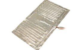 Aluminum foil heaters from BriskHeat.