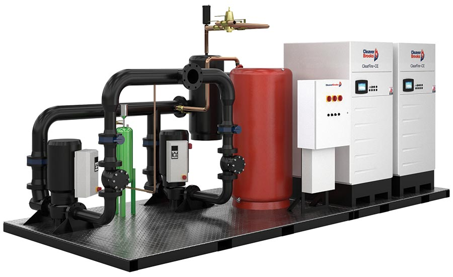 Skid solutions for boilers from Cleaver-Brooks.