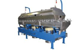 Vibrating fluid bed dryers and coolers from Witte Co.