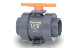 Large-diameter industrial ball valves from Hayward Flow Control.