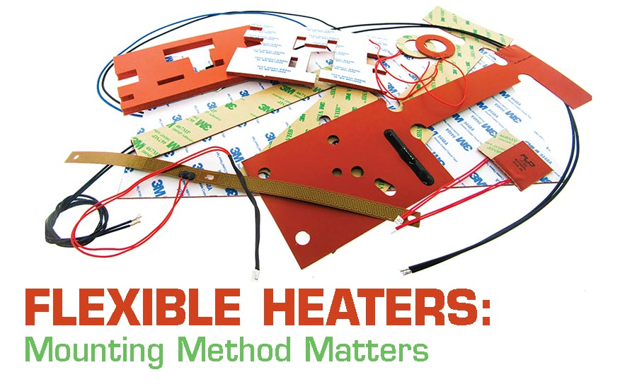 mounting flexible heaters