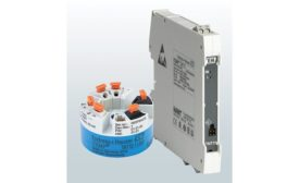 Temperature transmitters from Endress+Hauser.