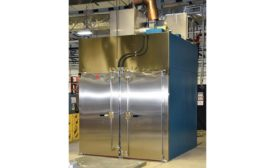 Steam-heated granulation dryer from Thermal Product Solutions.