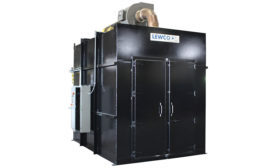 High temperature walk-in oven from Lewco Inc.