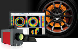 Infrared camera from InfraTec GmbH.