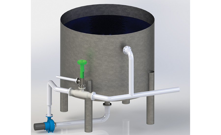 Hot water tank recovery