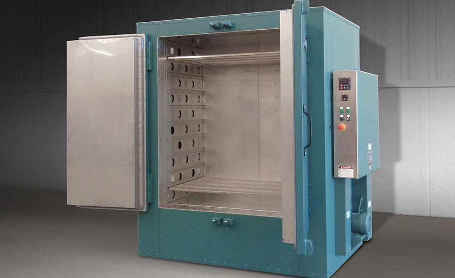 Shelf Oven for Heat Treating