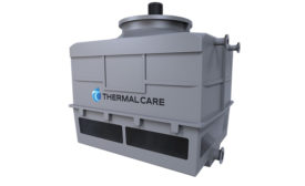 Fiberglass cooling tower from Thermal Care.