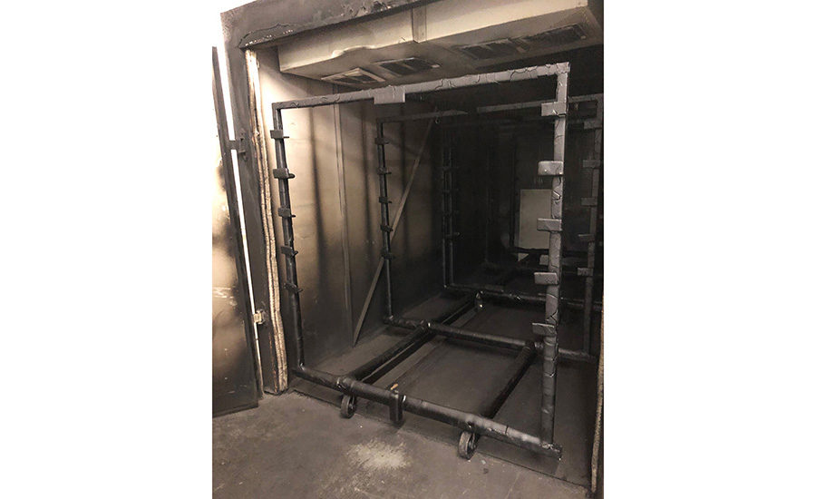 PH June 2021 CIS: Retrofitting Convection Oven Original Oven. Image provided by Catalytic Industrial Systems