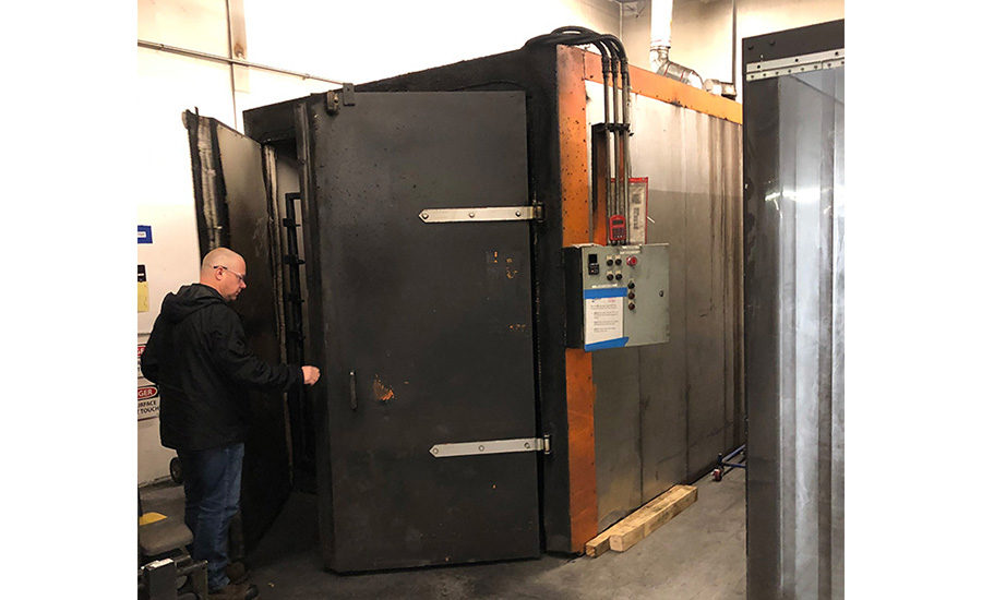 PH June 2021 CIS: Retrofitting Convection Oven. Image provided by Catalytic Industrial Systems
