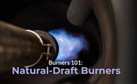 natural-draft burner
