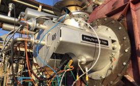 Megawatt-sized flameless combustion system
